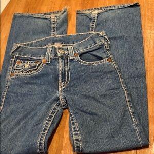 """True Religion jeans size 14 denim pants 28"""" waist"""